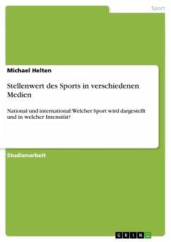 Stellenwert des Sports in verschiedenen Medien