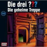 Die geheime Treppe / Die drei Fragezeichen - Hörbuch Bd.138 (1 Audio-CD)