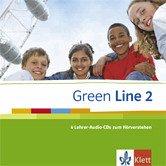 Green Line 2 - 4 Lehrer-Audio-CDs zum Hörverstehen