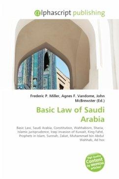 Basic Law of Saudi Arabia