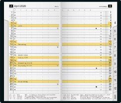 rido Taschenkalender 2019 M-planer PVC schwarz