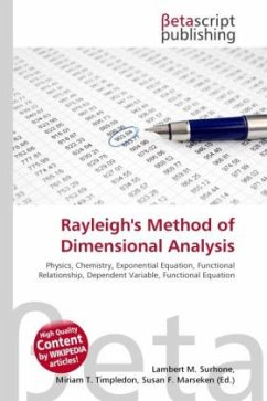 Rayleigh's Method of Dimensional Analysis