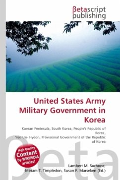United States Army Military Government in Korea