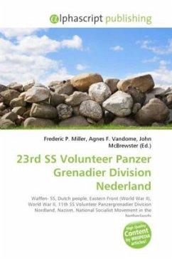 23rd SS Volunteer Panzer Grenadier Division Nederland
