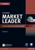 Teacher's Resource Book, w. Test Master CD-ROM / Market Leader Intermediate 3rd edition