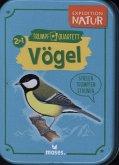 Moses Verlag 9671 - Expedition Natur Quartett: Quartett - Unsere Vögel