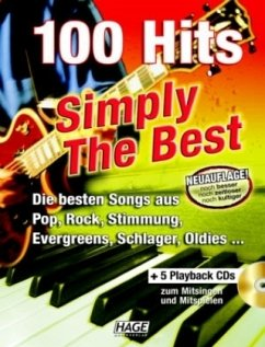 100 Hits, Simply The Best, m. 5 Audio-CDs