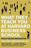 What They Teach You at Harvard Business School