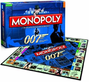 monopoly spiel james bond 007 collector 39 s edition. Black Bedroom Furniture Sets. Home Design Ideas