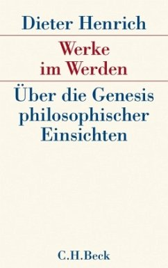 Werke im Werden - Henrich, Dieter
