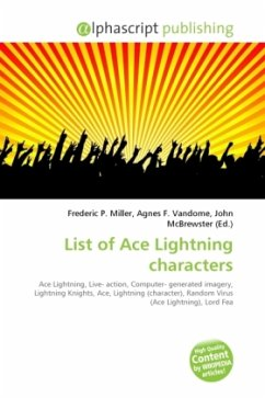 List of Ace Lightning characters