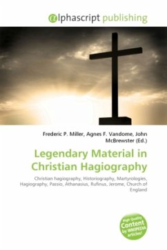 Legendary Material in Christian Hagiography