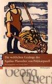 Die weltlichen Gesänge des Egidius Pfanzelter von Polykarpszell