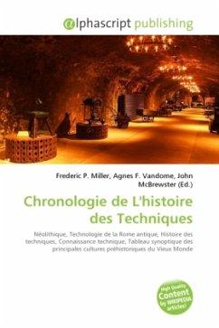 Chronologie de L'histoire des Techniques