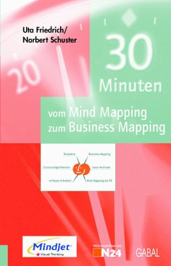 30 Minuten vom Mind Mapping zum Business Mapping (eBook) - Uta Friedrich, Norbert Schuster