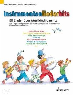 Instrumentenliederhits, für Klavier, Akkordeon, Keyboard u. Gitarre