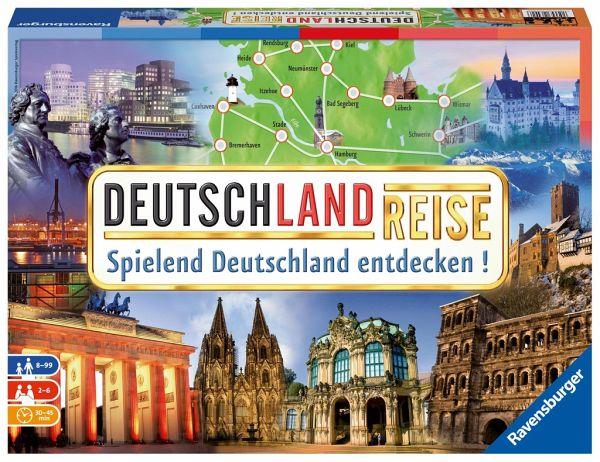 Spielanleitung Deutschlandreise