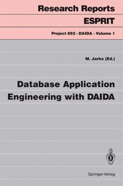 Database Application Engineering with DAIDA