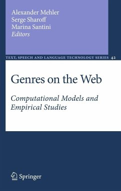 Genres on the Web: Computational Models and Empirical Studies