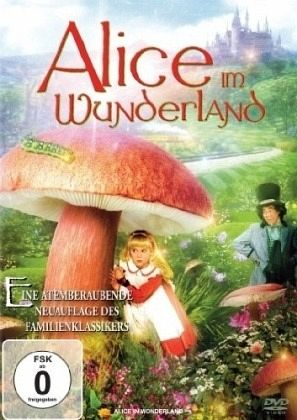 alice im wunderland film auf dvd. Black Bedroom Furniture Sets. Home Design Ideas