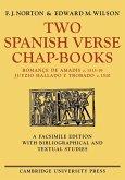Two Spanish Verse Chap-Books