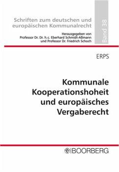 Kommunale Kooperationshoheit und europäisches V...
