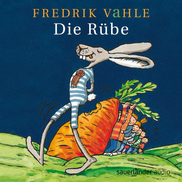 die ruebe ab 4 jahre von fredrik vahle auf audio cd. Black Bedroom Furniture Sets. Home Design Ideas