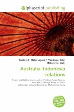 Australia Indonesia relations