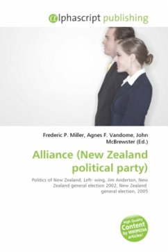 Alliance (New Zealand political party)