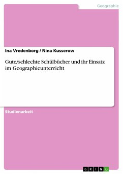 Gute/schlechte Schülbücher und ihr Einsatz im Geographieunterricht