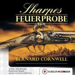 Sharpes Feuerprobe / Richard Sharpe Bd.1 (10 Audio-CDs)