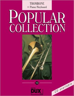 Popular Collection, Trombone + Piano/Keyboad