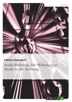 Audio-Branding. Die Wirkung von Musik in der We...