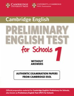 Cambridge PET for Schools 1. Student's Book without answers