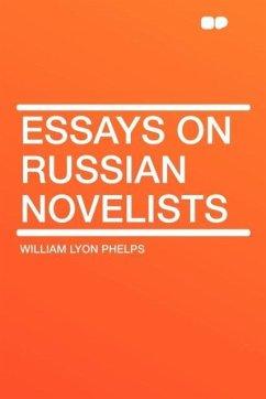 Essays on Russian Novelists