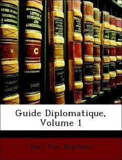 Guide Diplomatique, Volume 1