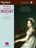 Mozart Concerto No. 20 in D Minor, Kv466: Book with Online Audio