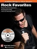 Rock Favorites - Audition Songs for Male Singers: Piano/Vocal/Guitar Arrangements with CD Backing Tracks [With CD (Audio)]
