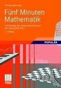 Fünf Minuten Mathematik (eBook, ePUB) - Behrends, Ehrhard