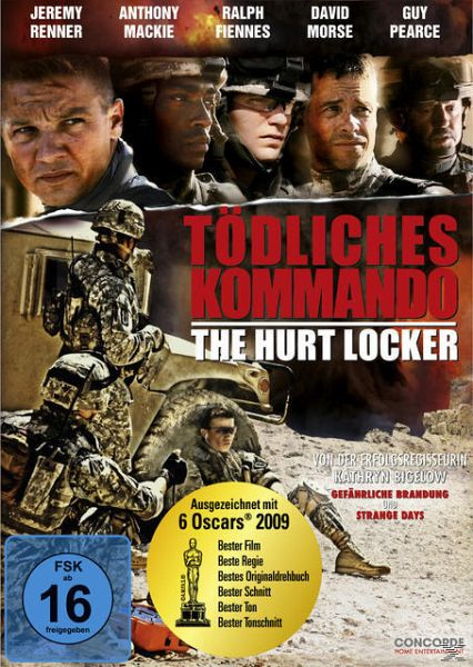 Tödliches Kommando - The Hurt Locker (Neuauflage) - Renner,Jeremy/Mackie,Anthony