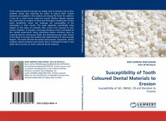 Susceptibility of Tooth Coloured Dental Materials to Erosion