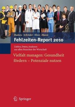 Fehlzeiten-Report 2010