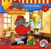 Benjamin Blümchen und die Schule / Benjamin Blümchen Bd.6 (1 Audio-CD)