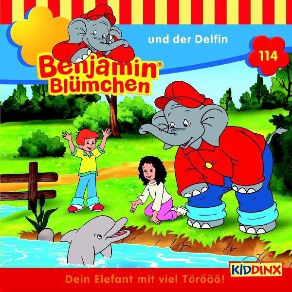 Benjamin Blümchen und der Delfin / Benjamin Blümchen Bd.114 (1 Audio-CD) - Donnelly, Elfie