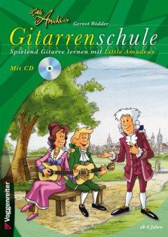 Little Amadeus Gitarrenschule, m. Audio-CD