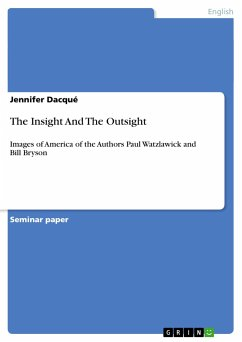 The Insight And The Outsight - Dacqué, Jennifer