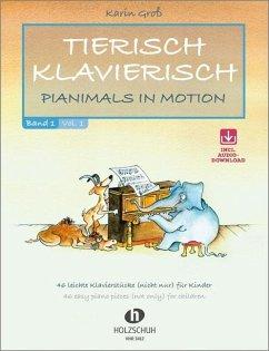 Tierisch Klavierisch, für Klavier, m. Audio-CD