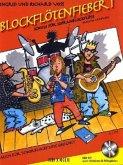 Blockflötenfieber, für Sopranblockflöte (barocke Griffweise), m. Audio-CD