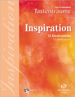 Inspiration, für Klavier, m. Audio-CD