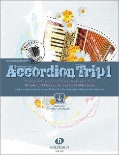 Accordion Trip, für 1-2 Akkordeons, m. 2 Audio-CDs
